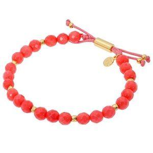 Gorjana Gemstone Pink Coral Bracelet for Harmony